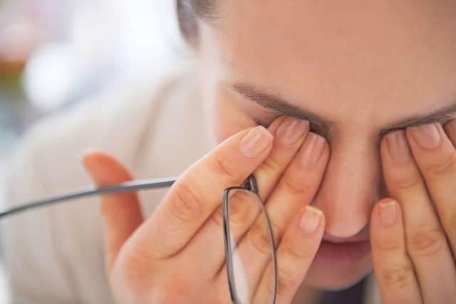 dolor de los ojos